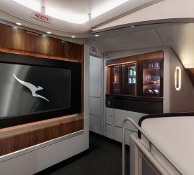 Le premier A380 rénové de Qantas a décollé !