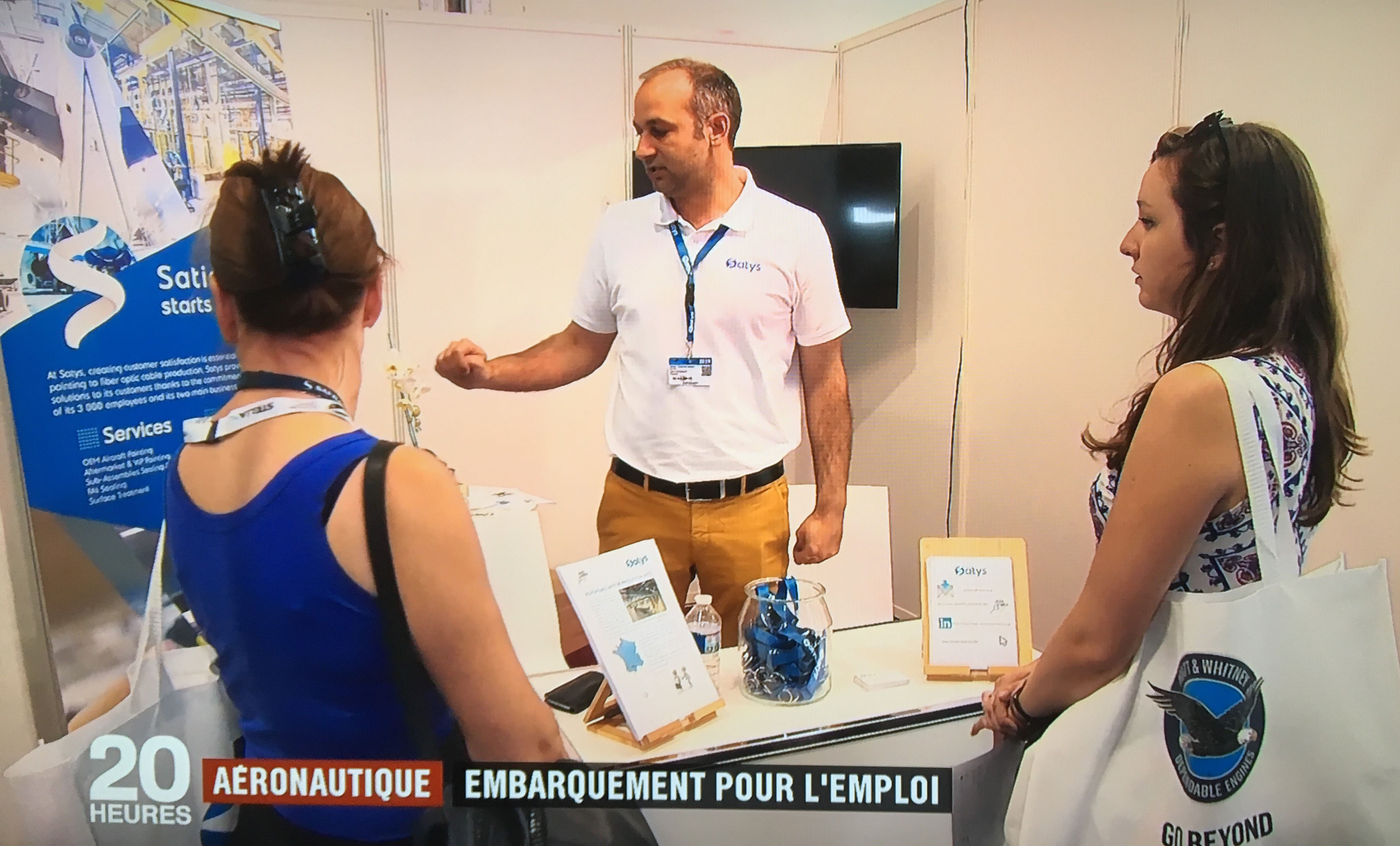 Paris Air Show: success of our job-training booth