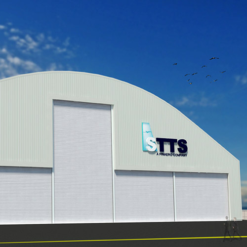 STTS contracts ASI to build its state-of-the-art aircraft painting hangar at Dubai South